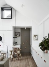 This is a kitchen that successfully separates utility and beauty.