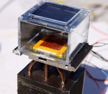 Scientists have developed a device that can convert low-humidity air into water.