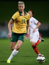 Michelle Heyman scored a hat-trick of goals in 18 minutes against Vietnam on Thursday.