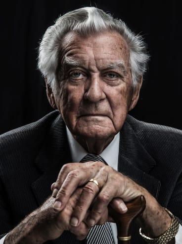 Bob Hawke, pictured last year.