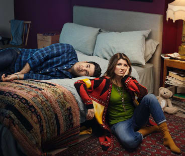 Robe Delaney and Sharon Horgan, writers and stars of Catastrophe.