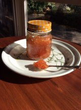 Serbian quince preserve made by Jasmina Antic.