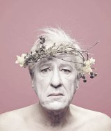 Geoffrey Rush in a publicity photo for the STC production of King Lear.