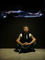Artist Greg Semu imitates the body of Christ in his new work.