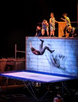 Acrobatic showcase: Performers in The Flying Fruit Fly Circus' new show JUNK.