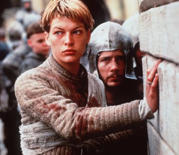 Milla Jovovich in <i>Joan of Arc</i>.