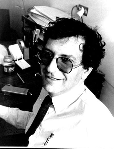 Dr. David Cooper at St Vincent's Hospital,1987.