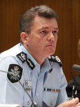 Uncomfortable: AFP commissioner Andrew Colvin rejected the Australian Christian Lobby's claims.