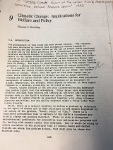 The National Research Council in the US was already assessing the risks from climate change back in 1983.