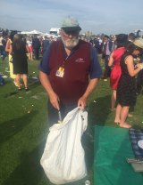 Harold McLean has worked at Flemington for 38 years.