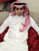 Gruesome punishment: Raif Badawi at home in Saudi Arabia in 2012.