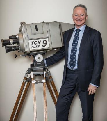Channel Nine CEO Hugh Marks.