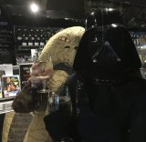 Costume enthusiasts can choose between Star Wars clubs that lean towards the good guys or the dark side. For Palace's midnight screening, cinema staff will dress up as their favourite character.
