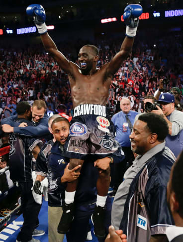 Champ: Terence Crawford is considered the best pound-for-pound fighter on the planet.