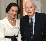 Former NSW governor Marie Bashir with Professor Blackburn.