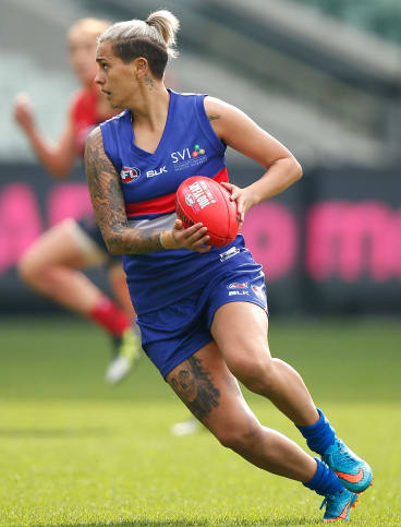 Moana Hope will be playing in the AFL women's match.