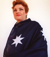 No one has draped herself more often in the national flag than Pauline Hanson.