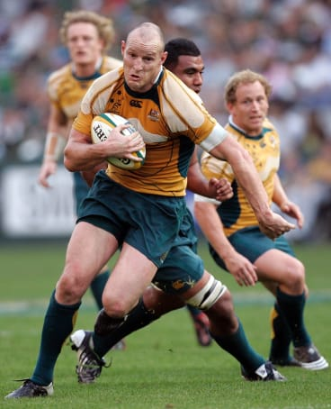 Stirling Mortlock has given Kuridrani the tick of approval to be the long-term Wallabies outside centre.
