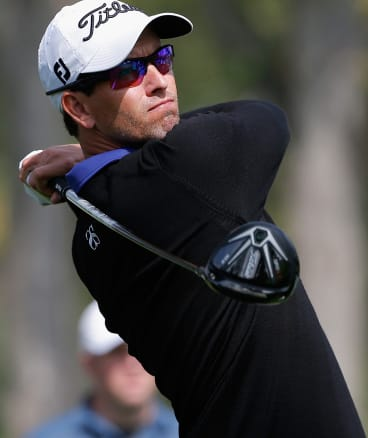 Adam Scott, a potential drawcard for future editions of the Perth International.