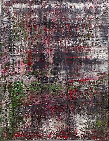 Birkenau, 2014, oil on canvas.