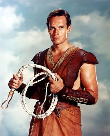 Charlton Heston in a 1959 still from the movie Ben-Hur.