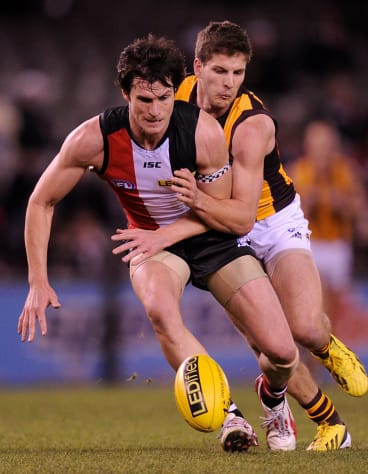 Foot soldier: Farren Ray will play his 200th game on Saturday night.