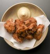 Karaage chicken.