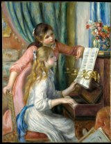 Young Girls at the Piano by Auguste Renoir (1892), Robert Lehman Collection.