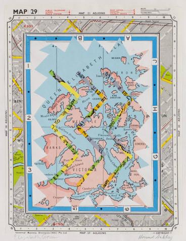 Howard Arkley and Elizabeth Gower, Map Book.