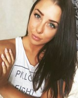 Melina Roberce, 22, was arrested trying to smuggle cocaine into Australia on a cruise ship.