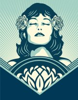 Shepard Fairey created this original illustration, which combines digital art and hand drawing, in a world exclusive for Fairfax Media. The work is part of Fairey's latest series exploring peace, harmony and the environment.