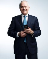 Malcolm Turnbull is a fan of emerging technology, including messaging apps.