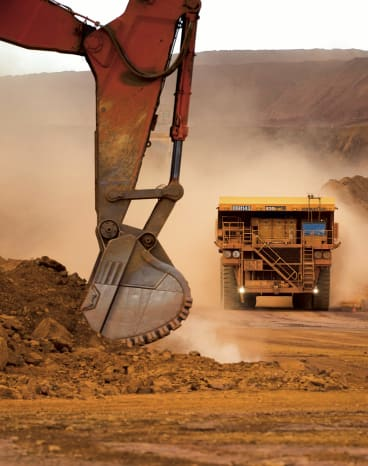 Driverless trucks are already being used at Australian iron ore mines.