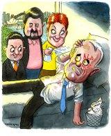 Cartoon: John Shakespeare