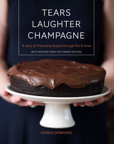 The Singed Sisters cookbook will be launched on Saturday by Annabel Crabb.