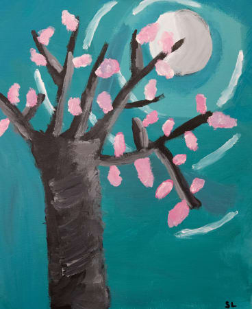 """""""The best thing about painting at Cork & Chroma is there's no right or wrong,"""" says teacher Jess Rebers."""
