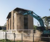 Demolition of the Dickson Towers begins on Wednesday.