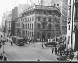 Rich history: The <i>Herald</i> building on Hunter and Pitt Street, Sydney, in the 1920s.