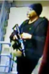 A picture of the gunman circulated by Philippine police.