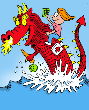 Ride investment trends from selling clean food to China to healthcare for the ageing population in the developed world. Illustration: John Shakespeare