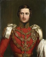"""Albert was """"excessively handsome"""", wrote a smitten Victoria in her journal. She was so taken with her husband's delicate moustache she asked that all soldiers in the British Army be ordered to grow them."""