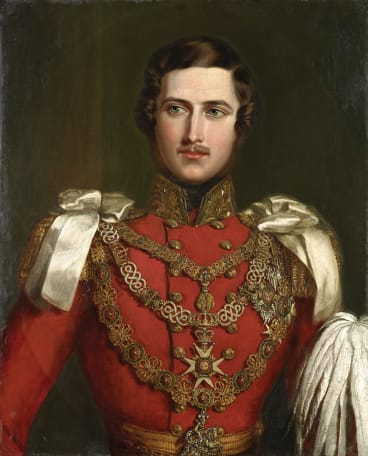 "Albert was ""excessively handsome"", wrote a smitten Victoria in her journal. She was so taken with her husband's delicate moustache she asked that all soldiers in the British Army be ordered to grow them."