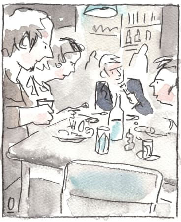 """Overheard by Oslo Davis, cafe, Kensington, Friday 1pm: """"I got pissed off with him so I put another hundred grand on it."""""""