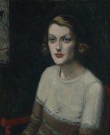 Agnes Goodsir's portrait of Sunday Reed.