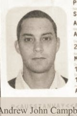 A copy of Andrew Stanway's passport was published by Indonesian media.