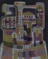 Senbergs' work, including <i>Head</i>, 1963, has often displayed the artist's predilection for dark fantasy.