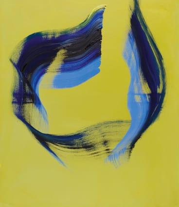 Ones III (2016-17), oil on canvas, 120cm X 100cm, €32,000.