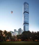 Skytower will be Brisbane's tallest building when complete.