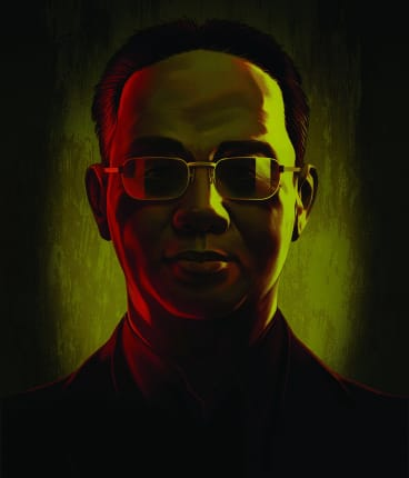 Xu Xiang became the unofficial captain of a group of traders known as the Ningbo Death Squad. Despite his preference for anonymity, the group took on a mythical status. <I>Illustration: Tavis Coburn/The New York Times</i>