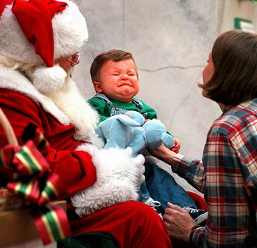 Stressful: It's not just children who can get a little emotional around the expectations of Christmas time.